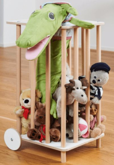 11 идеи для хранения детских игрушек